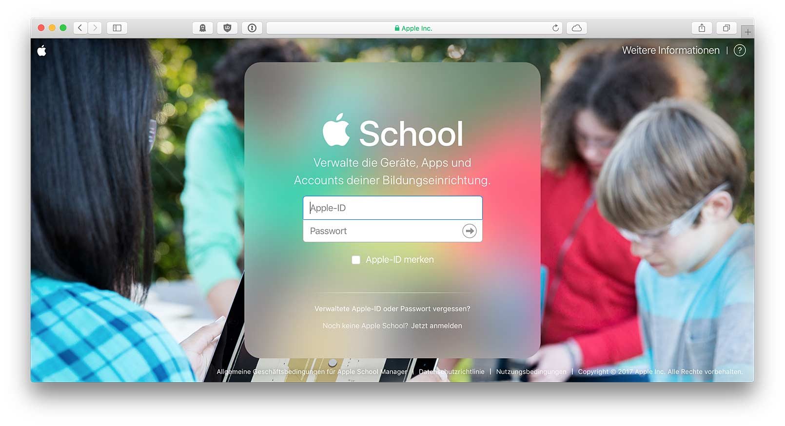 Apple School Manager